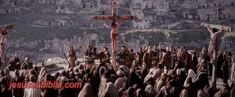 Jesus na Cruz entre Dois ladrões