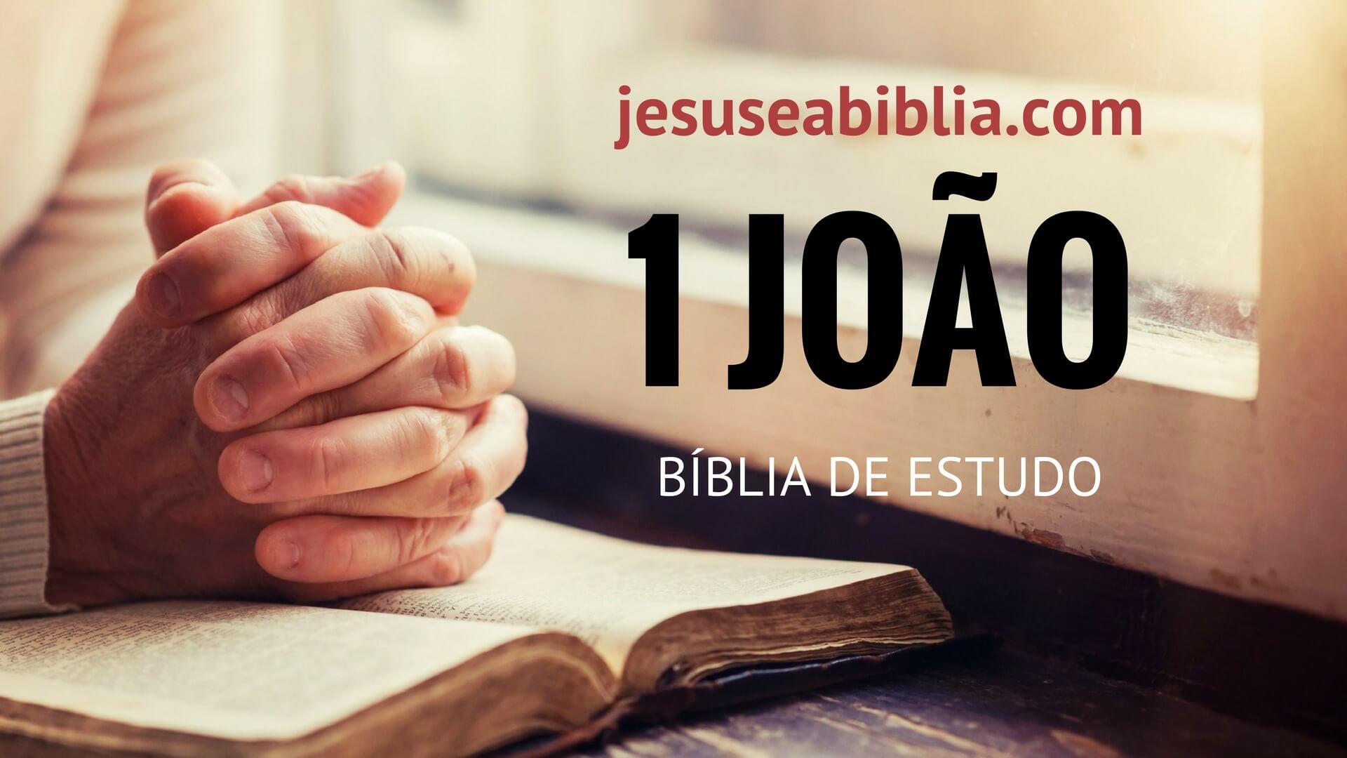 1 João - Bíblia de Estudo Online