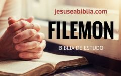 Filemom 1 Estudo: Paulo Intercede por Onésimo