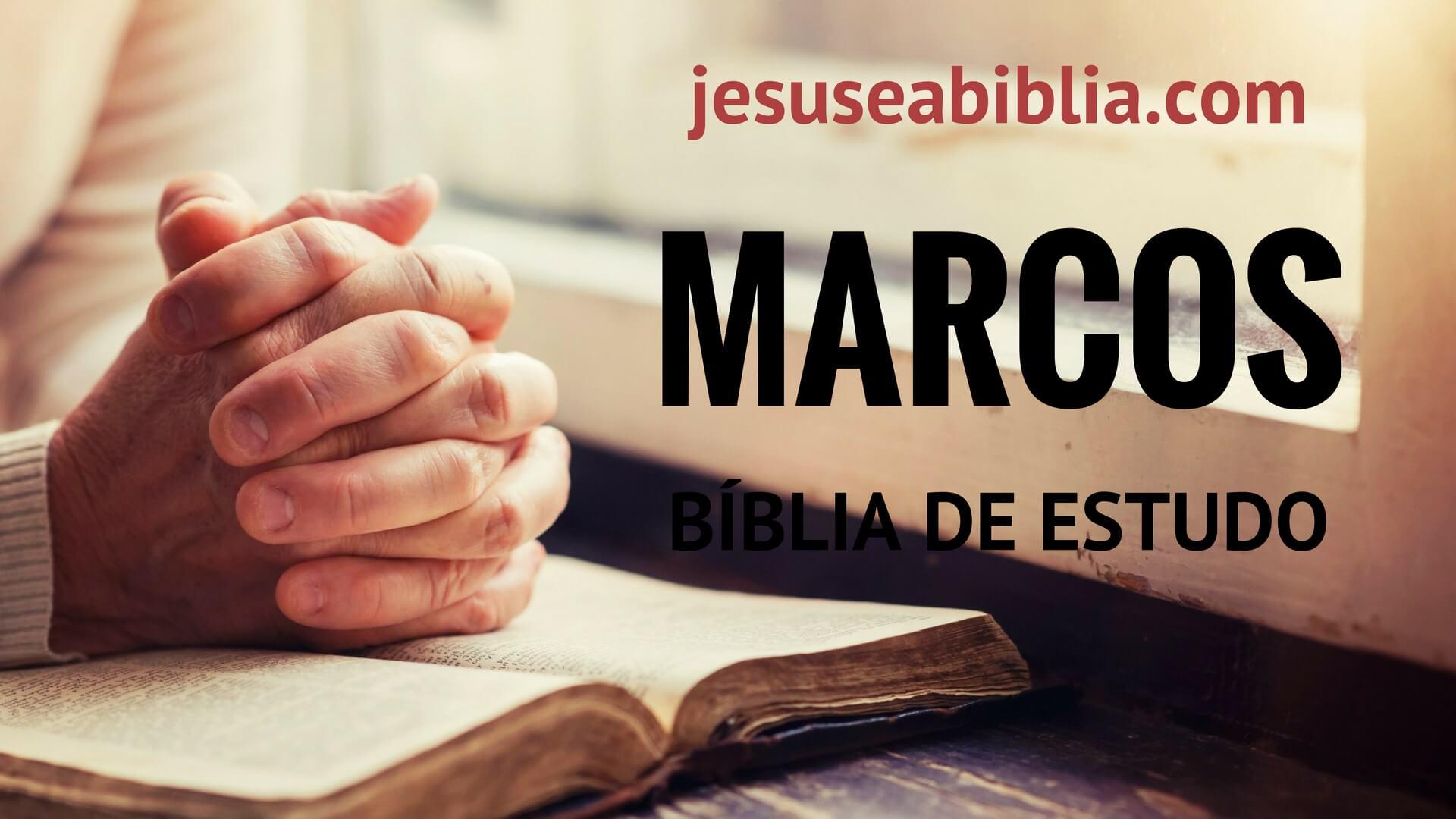Marcos - Bíblia de Estudo Online