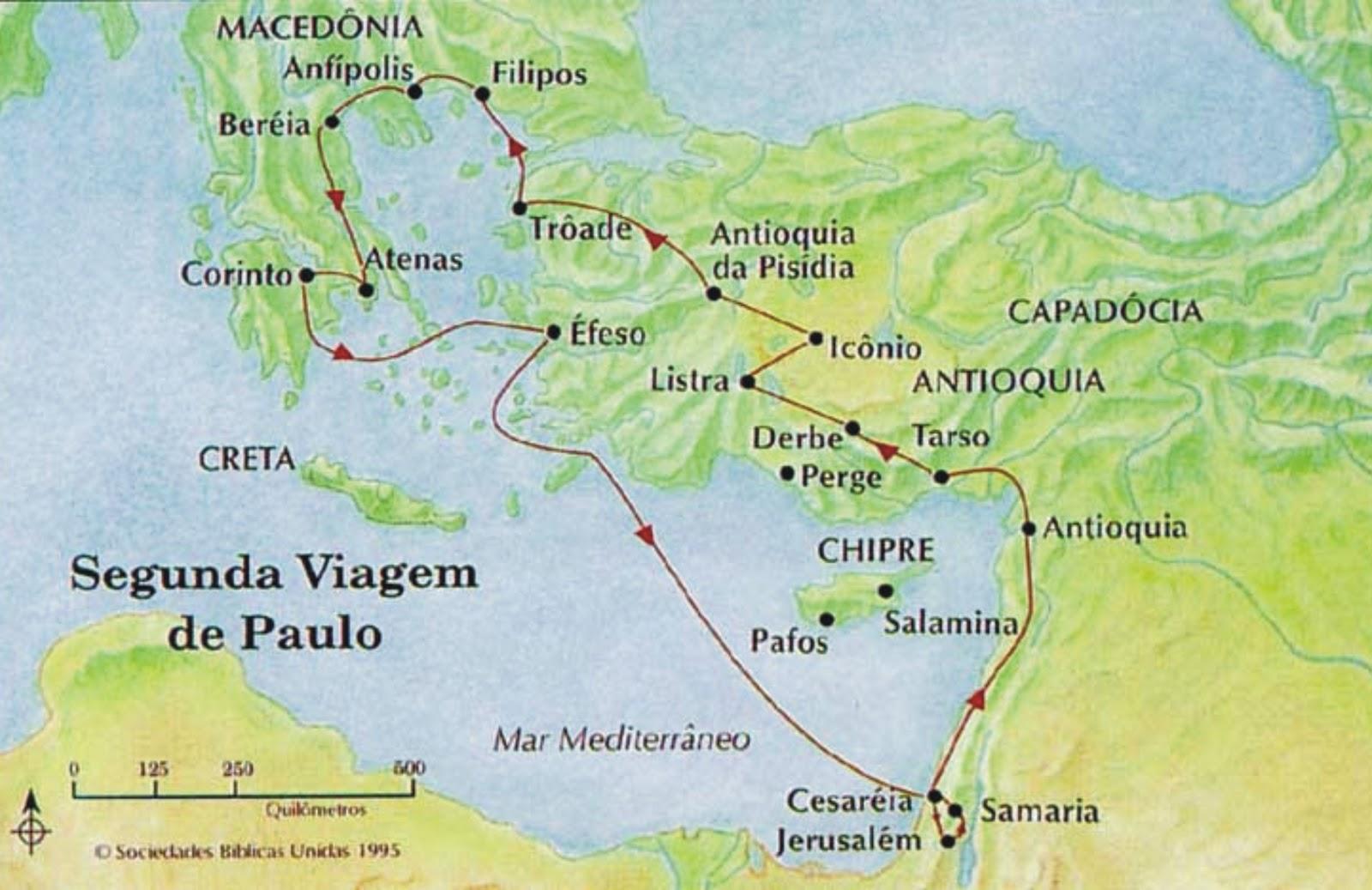 Segunda Viagem Missionária de Paulo