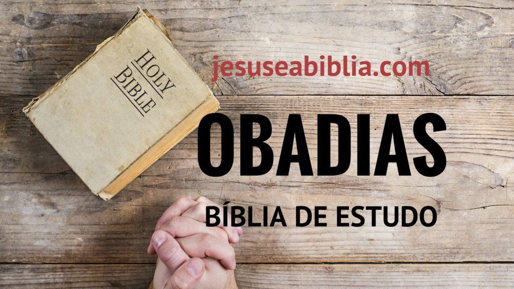 Obadias1 - Bíblia de Estudo Onlline