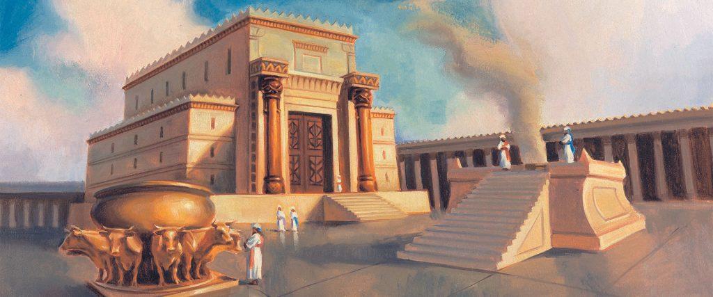 A Generosidade de Salomão - Templo de Salomão