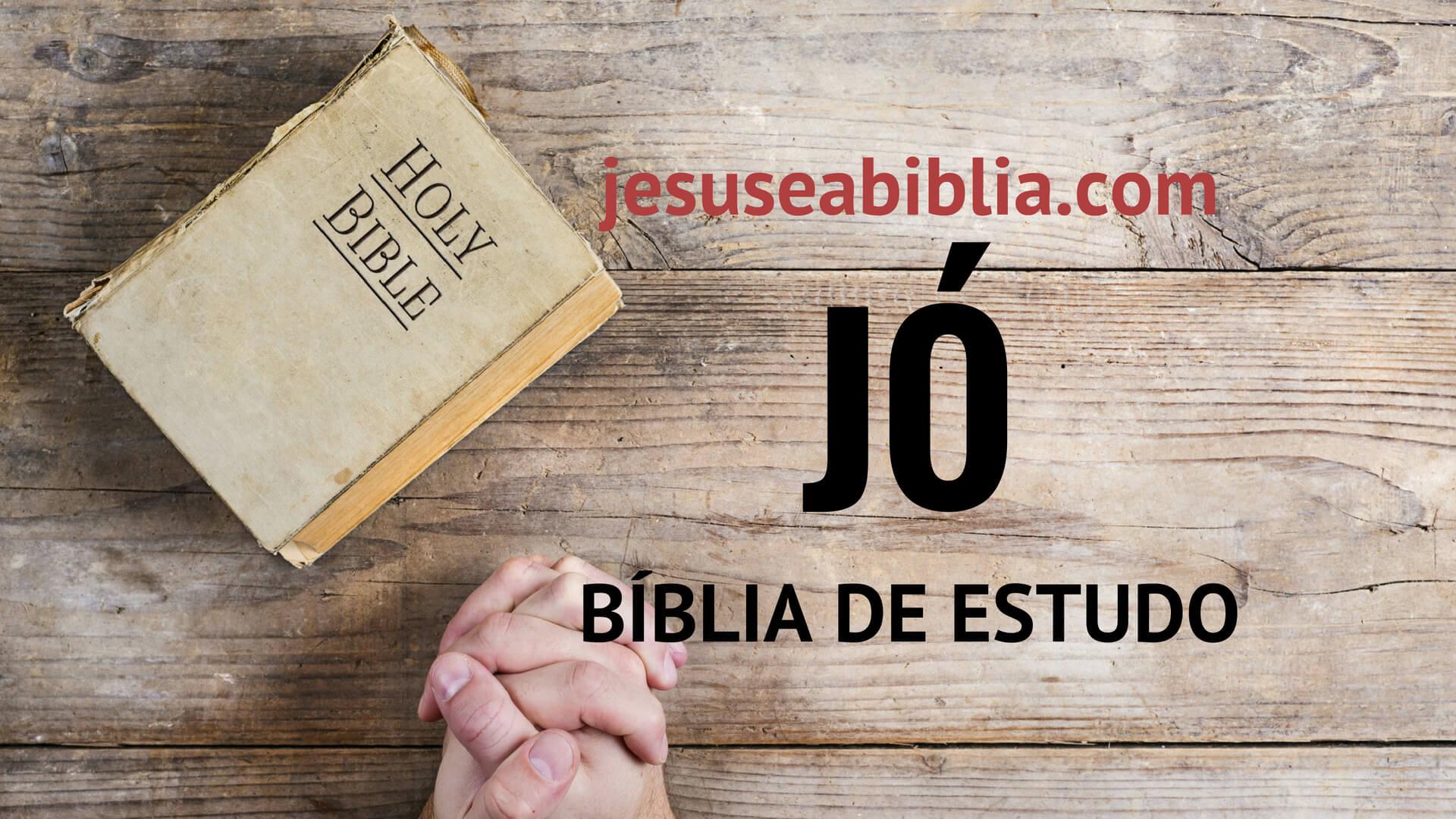 Jó - Bíblia de Estudo Online