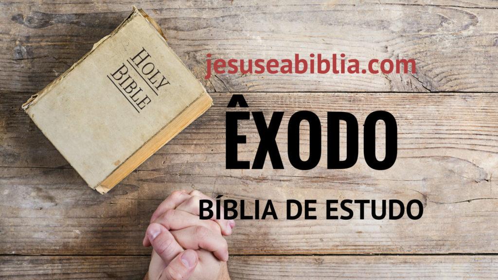 20dd7d5b0 O Livro de Êxodo Comentado – Jesus e a Bíblia