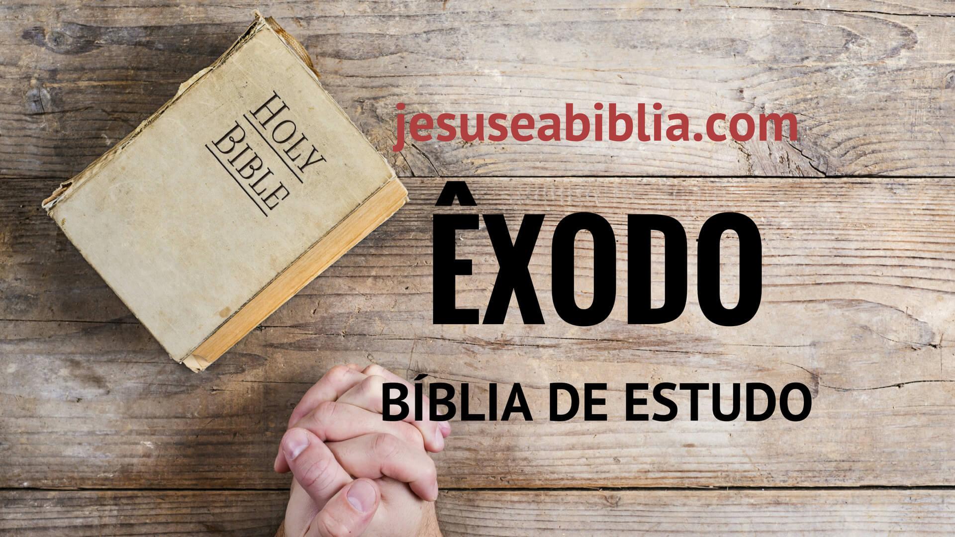 Êxodo - Bíblia de Estudo Online