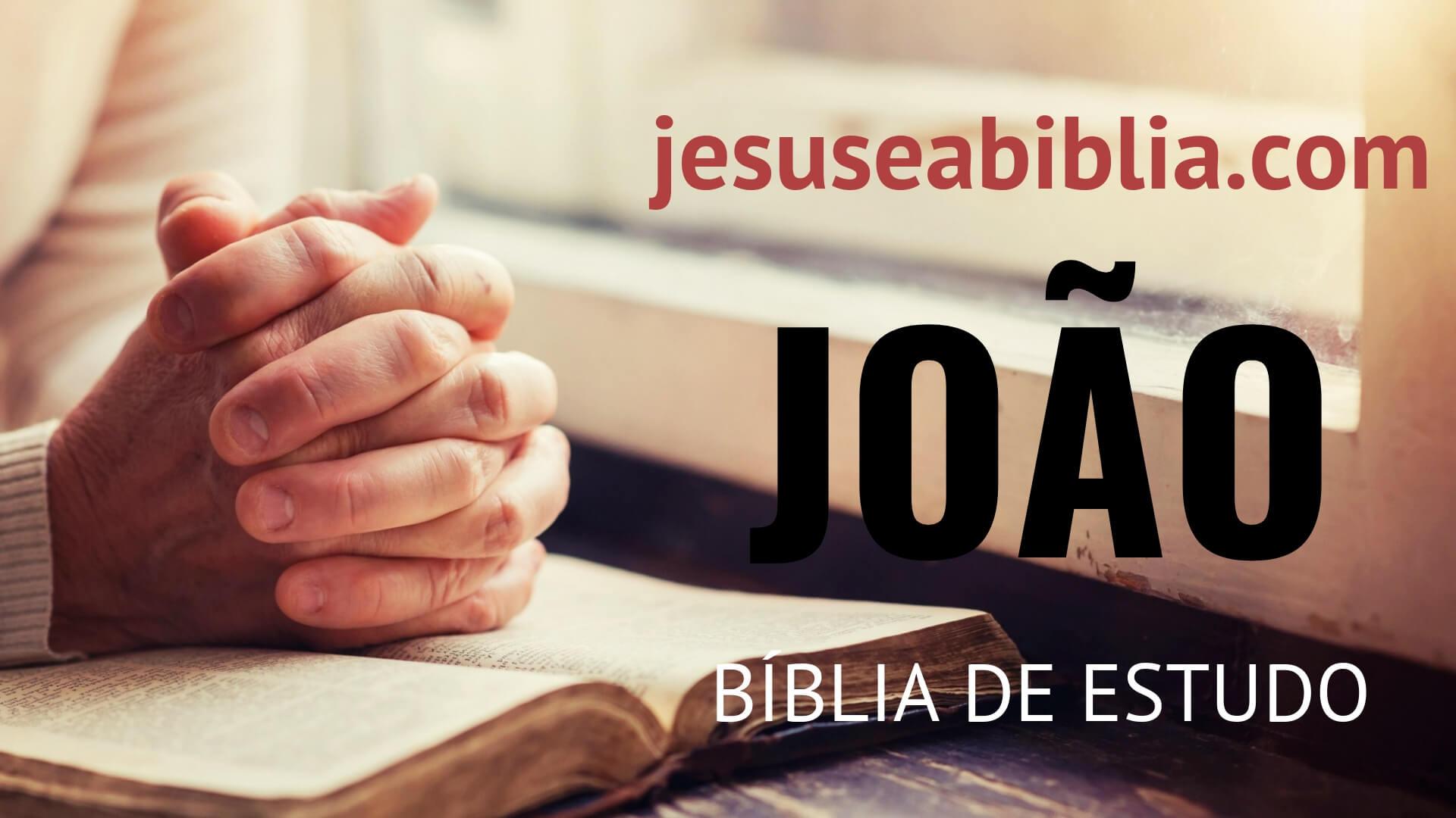 Evangelho Segundo João - Bíblia de Estudo Online