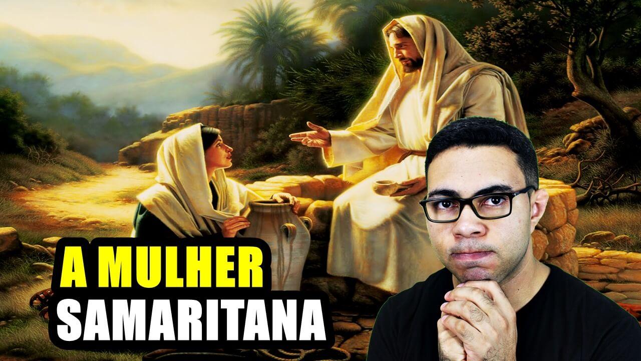A Mulher Samaritana e Jesus a Água Viva